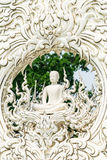 The sculpture of Buddha at Wat Rong khun Temple. Chiangrai Province Thailand Stock Photo