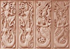 Sculpture Buddhist Stock Photo