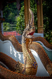 Sculpture in Buddhist temple Stock Image
