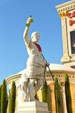 Sculpture  in Caesar's Palace   in Las Vegas Royalty Free Stock Photos