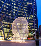 Sculpture Calgary du pays des merveilles Photos libres de droits