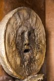Sculpture carved in basilica Stock Photo