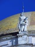 Sculpture Cathedral of Cadiz.  Stock Photos