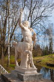 Sculpture of centaur Royalty Free Stock Image
