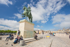 Sculpture at Chateau Versailles near Paris in France Royalty Free Stock Photo