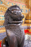 Sculpture chez Wat Phra Kaeo Photo libre de droits