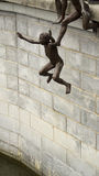 Sculpture: Children at Play Stock Image