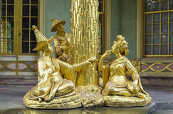 Sculpture of Chinese House, Potsdam, Germany. Golden sculpture of Chinese House in Sanssouci park, Potsdam, Germany Stock Image
