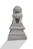 Sculpture chinoise en lion Photo stock
