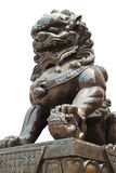 Sculpture chinoise en statue de dragon Photos stock