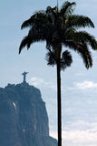 Sculpture Christ  Redeemer in Rio Royalty Free Stock Photos