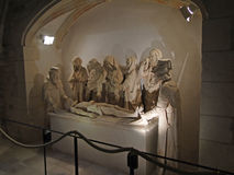 Sculpture of Christ's Entombment, Royalty Free Stock Images