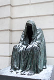 Sculpture Cloak Royalty Free Stock Photography