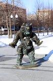 Sculpture Clowns Stock Image