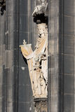 Sculpture Cologne Cathedral Royalty Free Stock Photos