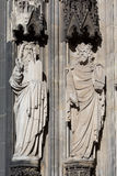Sculpture Cologne Cathedral Royalty Free Stock Image
