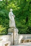 Sculpture of the composer Franz Liszt. In Weimar stock photos