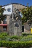 Sculpture consacrée au bébé de Francisco Asorey Of Mother And à Cambados Nature, architecture, histoire, voyage 18 août 2014 images libres de droits