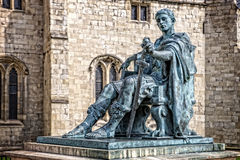 Sculpture of Constantine the Great Royalty Free Stock Images