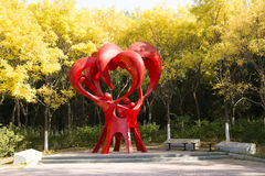 Sculpture, dévouement Images stock
