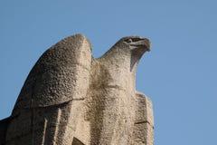Sculpture d'aigle près du bâtiment du Burg de Neue à Vienne photos stock