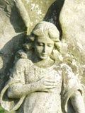 Sculpture d'ange Image libre de droits