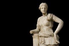 Sculpture d'Artemis au musée d'archéologie d'Istanbul, Turquie photos libres de droits