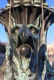 sculpture d'un griffon Images libres de droits