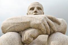 Sculpture d'un homme Photos libres de droits