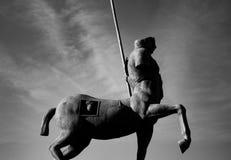 Sculpture d'une place de Pompeii image libre de droits