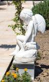 Sculpture dans la cour d'un hôtel cinq étoiles dans Kranevo, Bulgarie Photographie stock