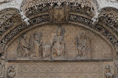 Sculpture dans la pierre Image libre de droits