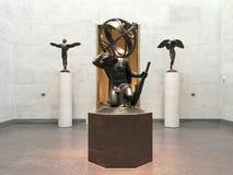 Sculpture dans le musée des beaux-arts Houston photographie stock libre de droits