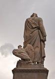 Sculpture  Dante Alighieri Royalty Free Stock Photography