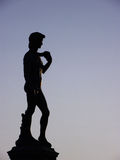 Sculpture of David in Florence. Italy stock photo