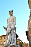 Sculpture of David in Florence Stock Photos