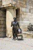 Sculpture de cintreuse d'Ostap à l'entrée à Proval dans Pyatigors photos stock