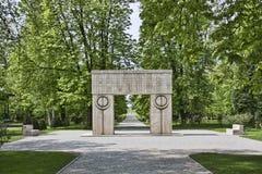 Sculpture de Constantin Brancusi Photo stock