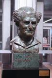 Sculpture de David Ben-Gurion chez Ben Gurion International Airport, appelée dans son honneur Image libre de droits