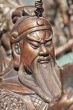 Sculpture de Guang Yu au marché de Panjiayuan, Pékin, Chine Photos stock