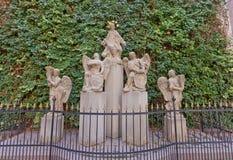 Sculpture de John de Nepomuk à Bratislava, Slovaquie Image libre de droits