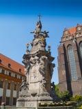 Sculpture de John de Nepomuk, Wroclaw photo libre de droits