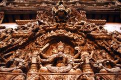 Sculpture de Katmandou Photographie stock libre de droits