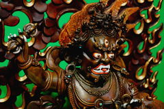 Sculpture de la divinité bouddhiste Vajrapani Photographie stock libre de droits