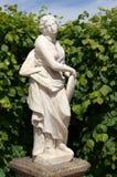 Sculpture de marbre en parc Image stock