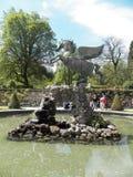 sculpture de Pegasus à Salzbourg photos stock