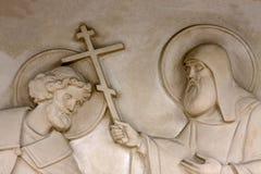 Sculpture de prêtre photo libre de droits