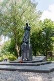 Sculpture de prêtre catholique polonais Jerzy Popieluszko photographie stock libre de droits