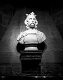 Sculpture de Robert le Bruce, Stirling, Ecosse photo stock