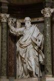 Sculpture de St Paul Images libres de droits